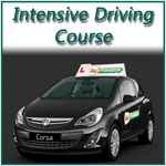 Intensive driving course.  Pass in a week
